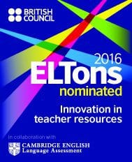 Eltons 2016 NOMINATED TEFL Preparation Course