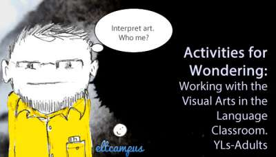 activities for working with the visual arts in the language classroom