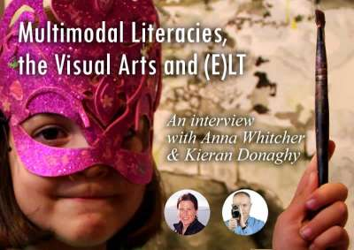 podcast august 2017 multi modal literacy visual art and ELT