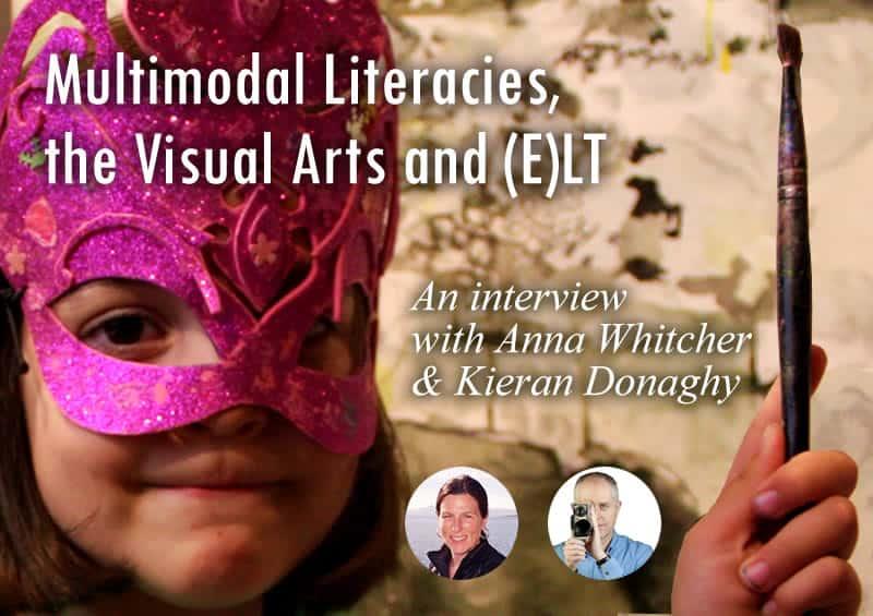 podcast august 2017 multi modal literacy visual art and ELT