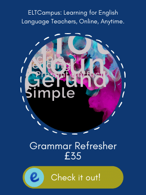 Online Grammar Refresher Course in Preparation for English Language Teacher Training ELTCampus
