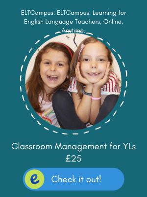 Online Short Course Classroom Management for Children's English Classes- Teaching English to Young Learners ELTCampus